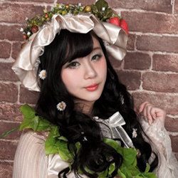 Tama from Japanese idol metal group Lyric Holic