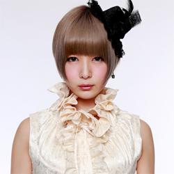Tokita Maako of Japanese progressive metal idol group Mugen Regina