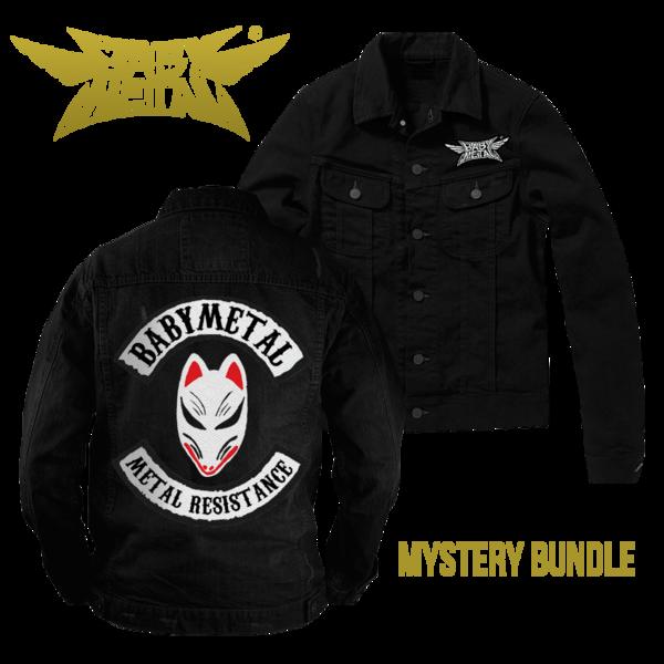 Bad-as-fuck Babymetal Metal Resistance jacket