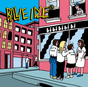 Cover for Japanese idol punk group Billie Idle's bi bi bi bi bi album